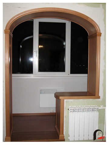 Изготовление арки из комнаты на балкон видео. - установка ло.